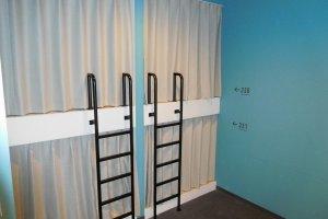 Capsule bunks