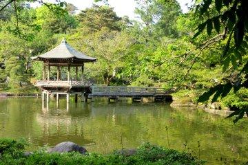 Сад Наритадзана - хорошее место для отдыха!