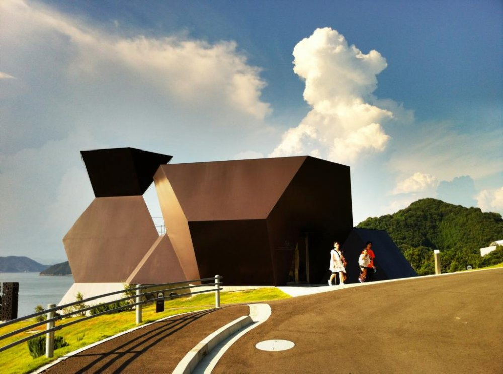 The Toyo Ito Museum of Architecture on Omishima