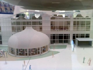 There Are Some Groovy Architectural Models On Display