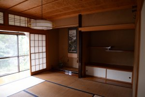 Room of their Japanese-style house