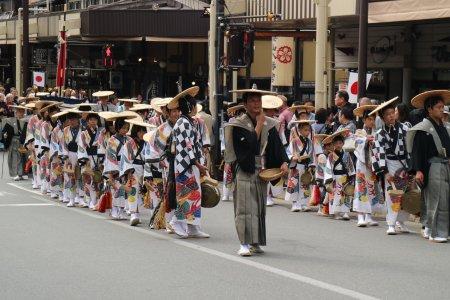 타카야마 가을 축제
