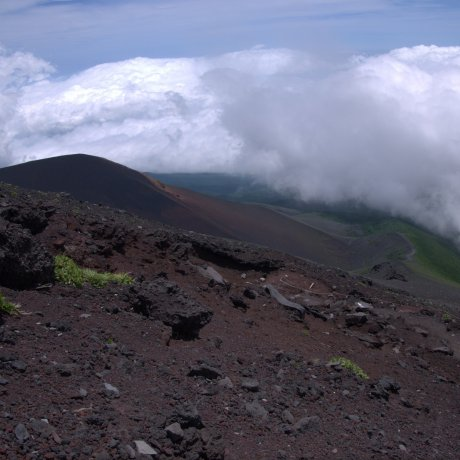 Fujinomiya Trail on Mount Fuji
