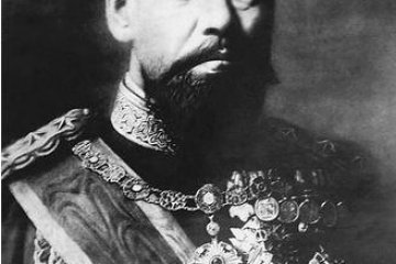 Emperor Meiji ordered that military artifacts be preserved for the generations.