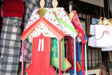 Традиционные куклы Танабата