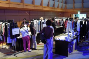 Designers will be on-site selling their designs.