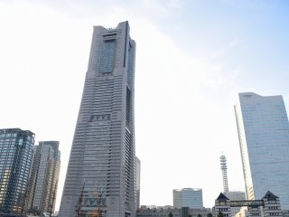 This is Japan's second tallest building, the Landmark Tower