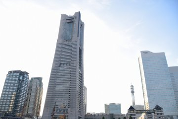 Landmark Tower and Nippon Maru