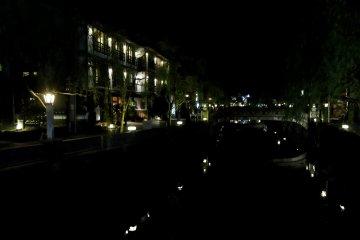 Beautiful Kinosaki at night