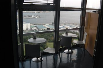 Café La Plage, an eatery with a view