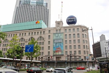 The Nankai Line connects Kansai International Airport directly with Nankai Namba Station in heart of Osaka. The station building is also home to the many stores, restaurants and services of the Namba City shopping complex.