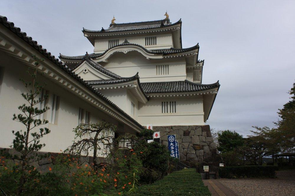 L'entrée du château d'Otaki