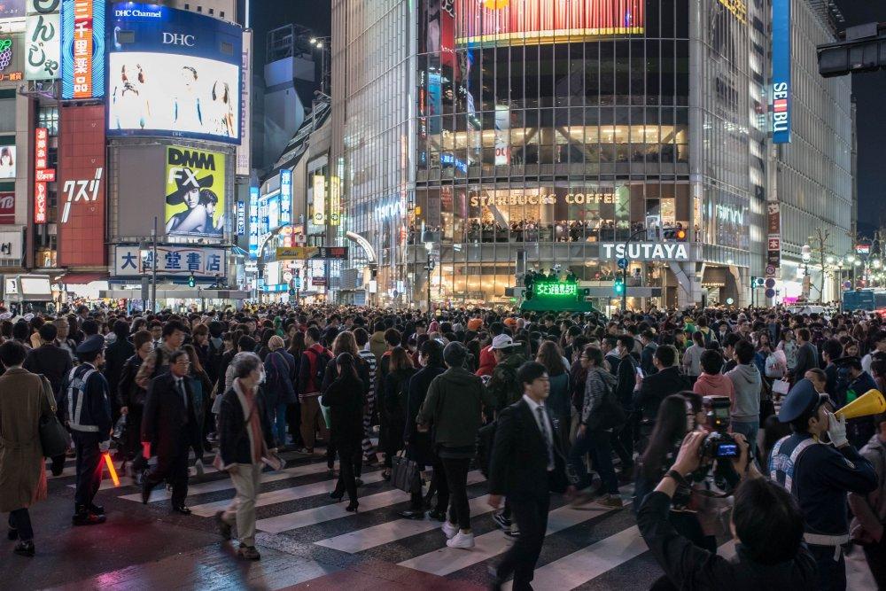 Giao lộ Shibuya không dành cho kẻ nhút nhát