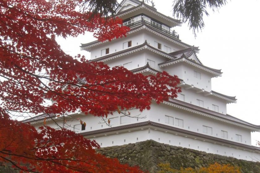 Near the honmaru entrance