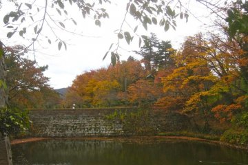 The path to the honmaru