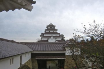 The tower from the exit of the Hashiri Yagura turret