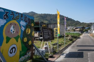 Locals welcome you with free water and delicious food
