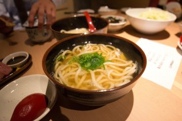 The hot original udon