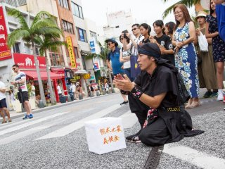 Fall in love with Okinawa's joy this Sunday on its International Street