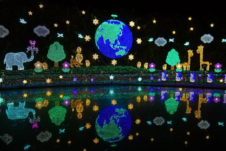 Ashikaga Flower Park Illumination