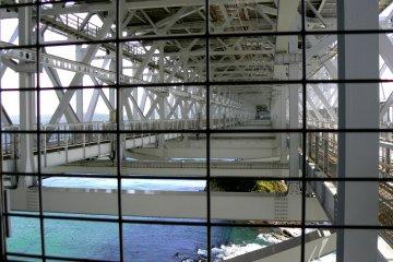 Looking at bridge girders