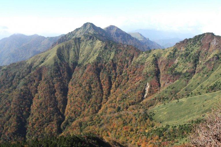 Climbing Mt. Ishizuchi