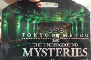 Official game kit of Tokyo Metro The Underground Mysteries