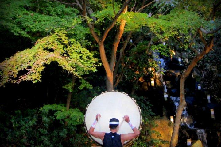 ในฤดูใบไม้ร่วง ณ สวนสาธารณะอิโซะ