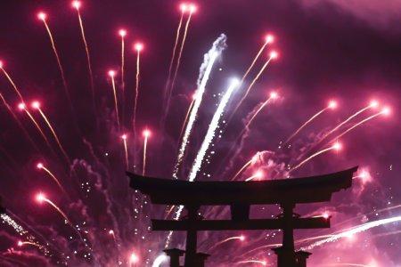 Trải nghiệm ngắm pháo hoa Miyajima
