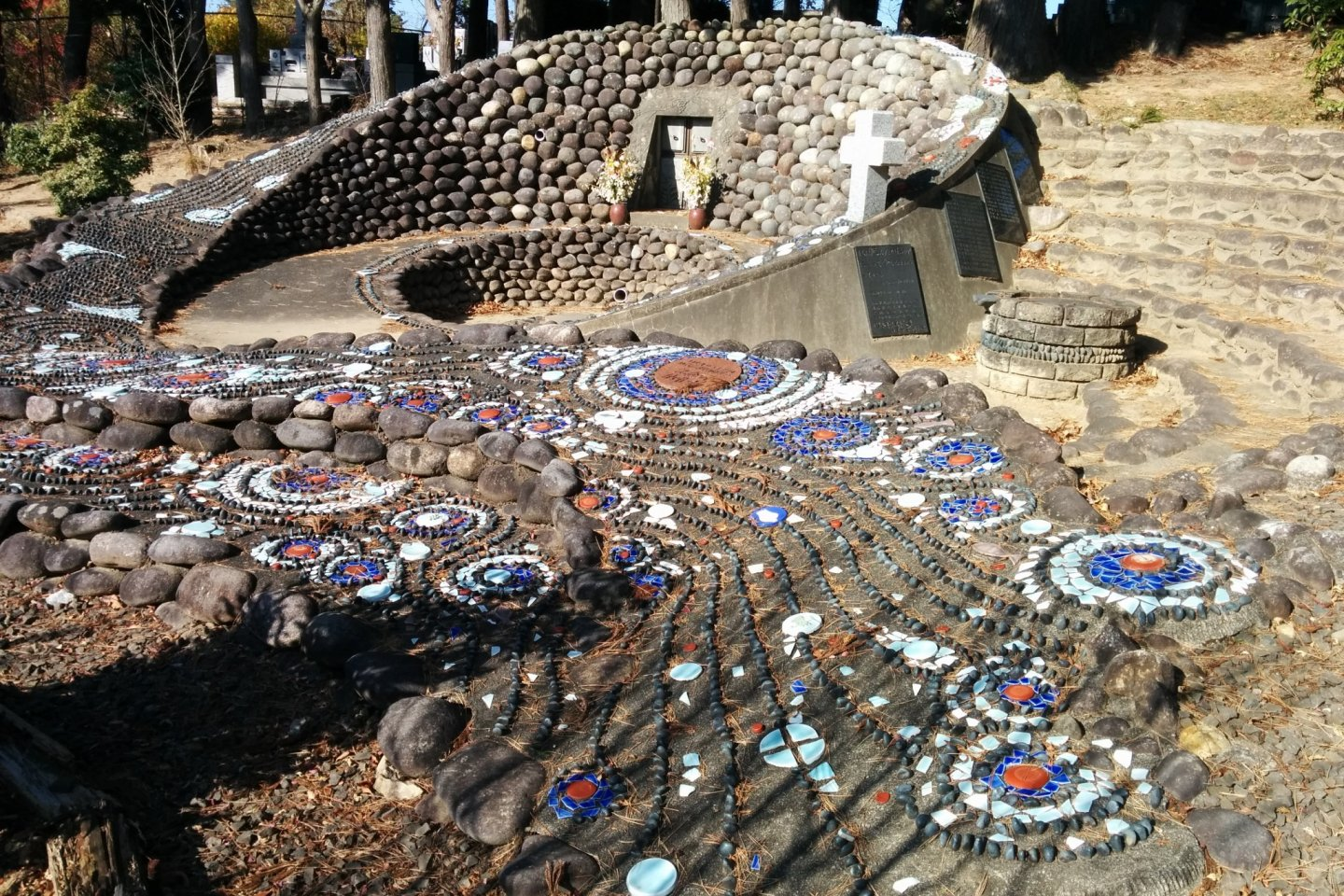 Masterful art at the Christian cemetery