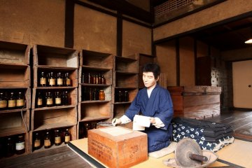 One of the fascinating recreations found in Uchiko