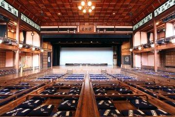 Inside the historic Uchiko-za theatre