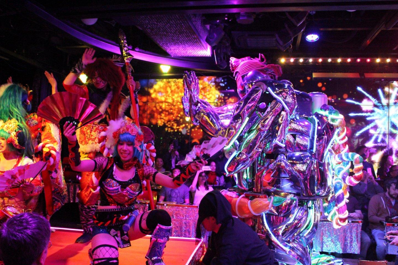 Showtime At Robot Restaurant Shinjuku Tokyo Japan Travel