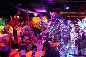 Showtime at Robot Restaurant
