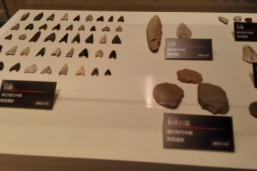 Stone arrow heads