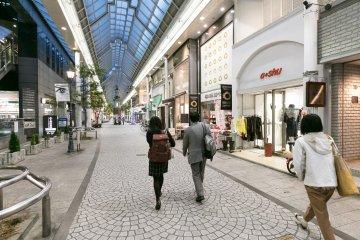 Shopping à Okayama