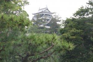 Замок Мацуэ в центре города
