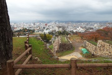 View from Tottori Castle Ruins