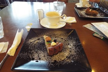 Cafe D'art Musee at Prefectural Museum