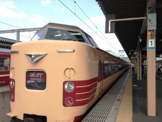 All aboard the Hashidate