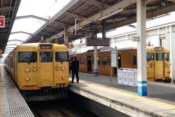 Between Okayama and Uno