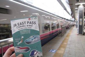 Ready to travel with the JR East Pass – Tohoku area