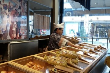 Kimuraya bakery on Chuo-dori