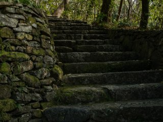 Charming countryside steps