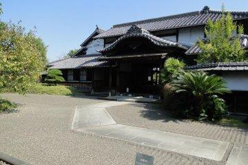 The exterior of the Kyu-Hosokawa samurai residence