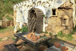 Strawbale House Ceramic Factory
