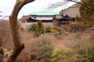 Kiyomizudera - main hall