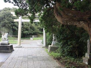 L'entrée dans le sanctuaire