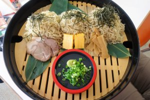 The specialty noodle dish on offer at the southern ropeway station cafe