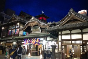 Dogo Onsen, which inspired Studio Ghibli's Spirited Away